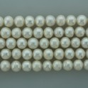 Freshwater Pearl Potato White 11-12mm 16""